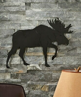 Metal Moose Art