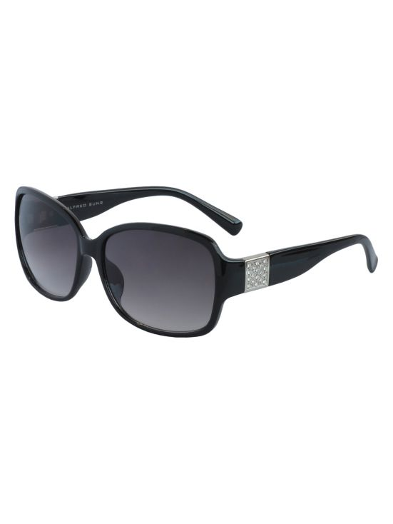 Alfred Sung Stones Round Sunglasses
