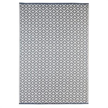 Grey Diamond Reversible Weather Rug