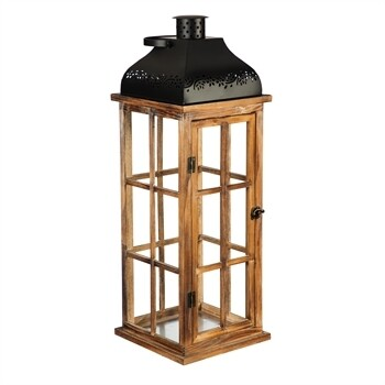 LG Nested Wood Lantern