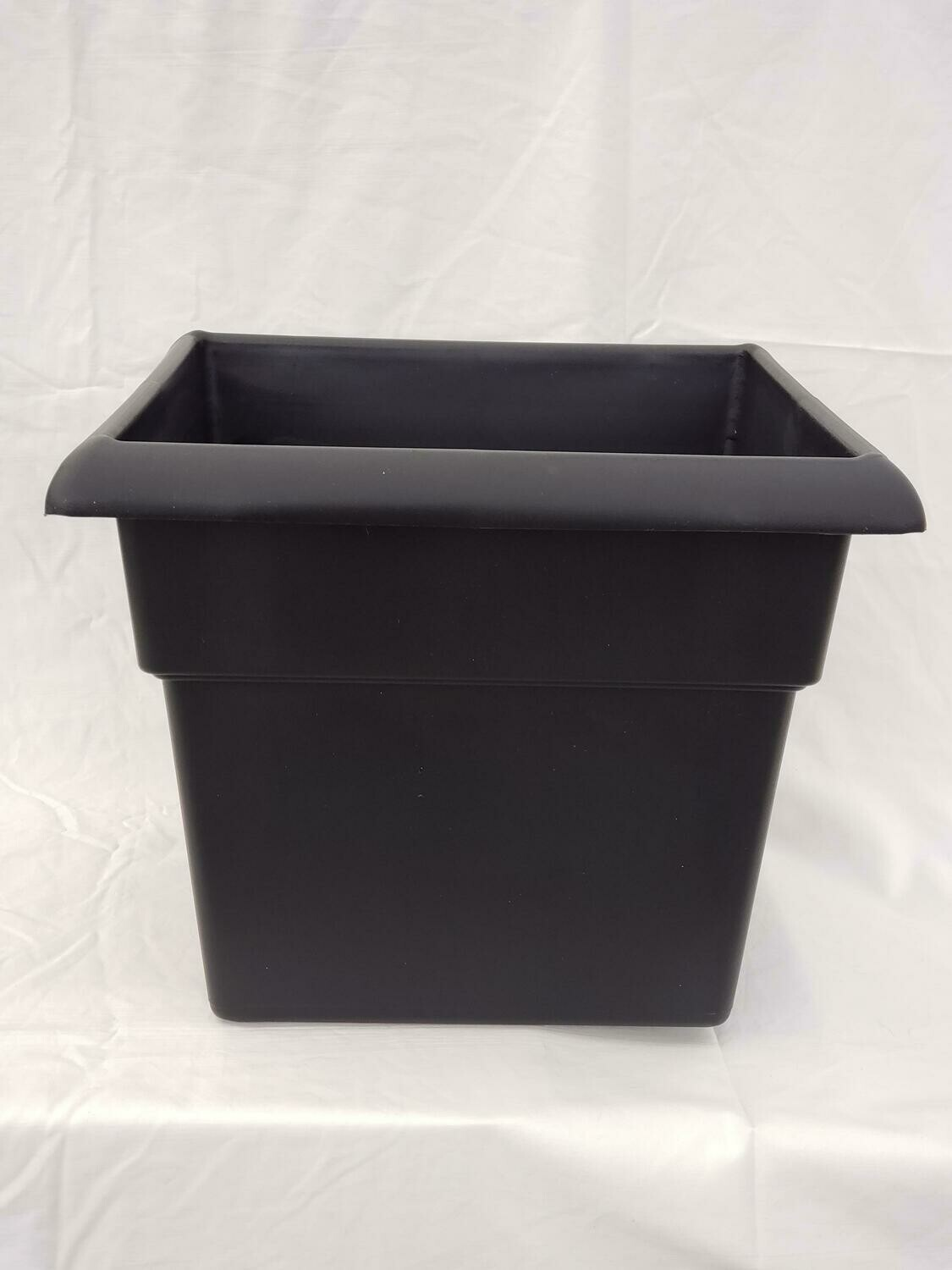 "BLK 14"" Square Planter"