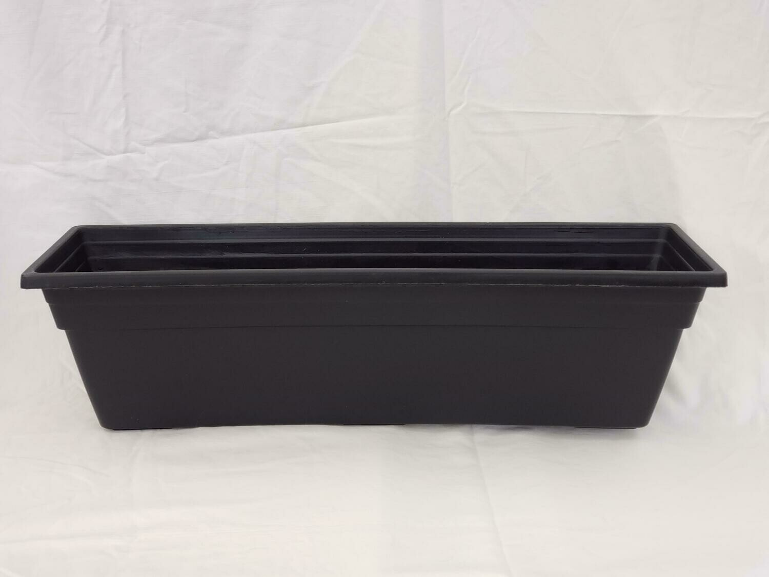 "BLK 24"" Window Box"