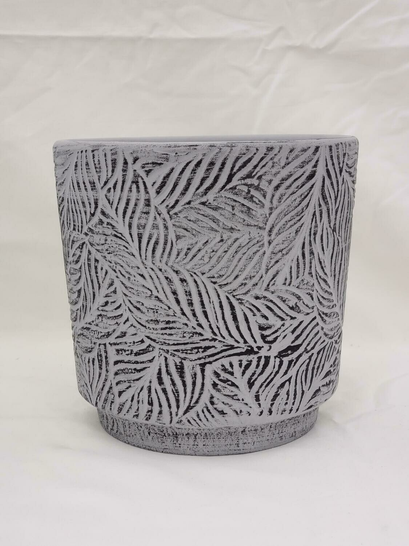 15cm L GRY Ceramic Pot