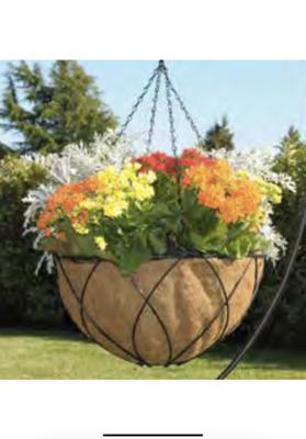 """10"""" Metal Hanging Basket"""