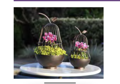 Pear Planter Set Of 2