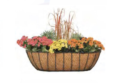 """24"""" Rustic Country Wall Planter"""