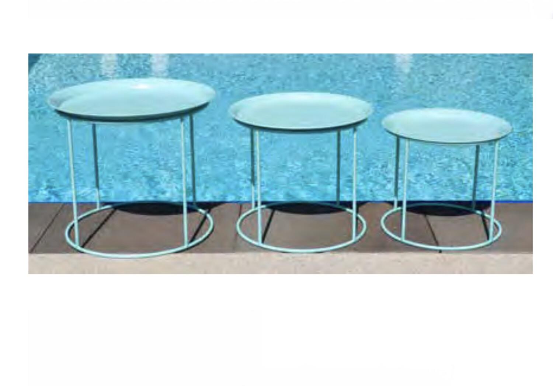 Aqua Plant Stand Set Of 3