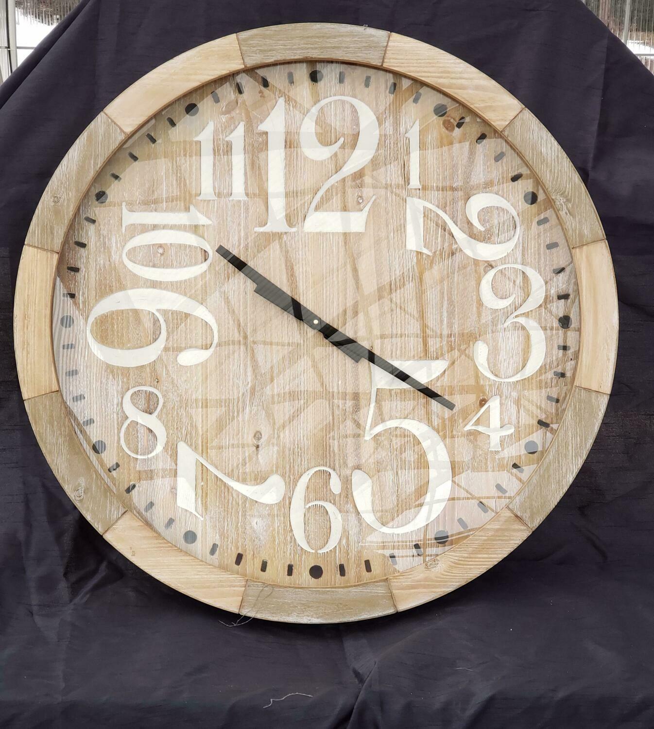 Wacky Letter Clock