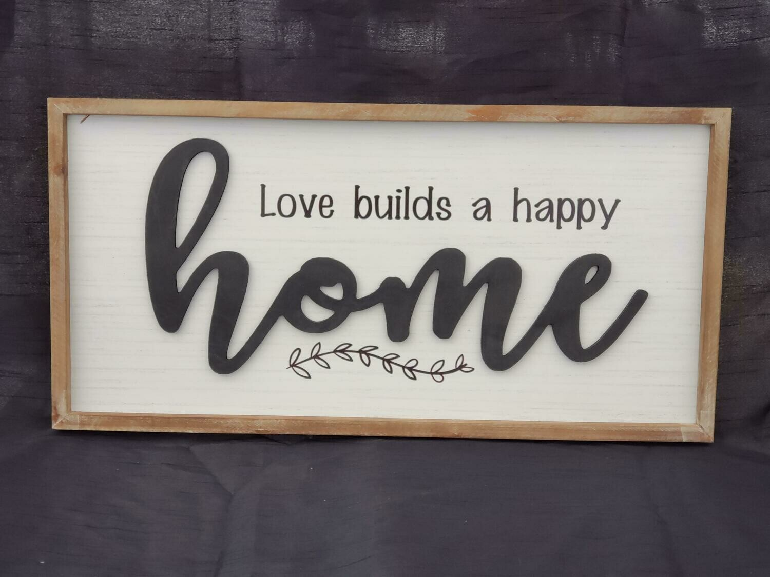 Happy Home Wall Art