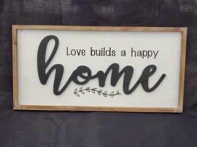 Happy Home Wall Art