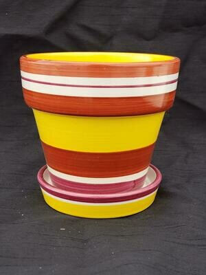 RED Fiesta Pot