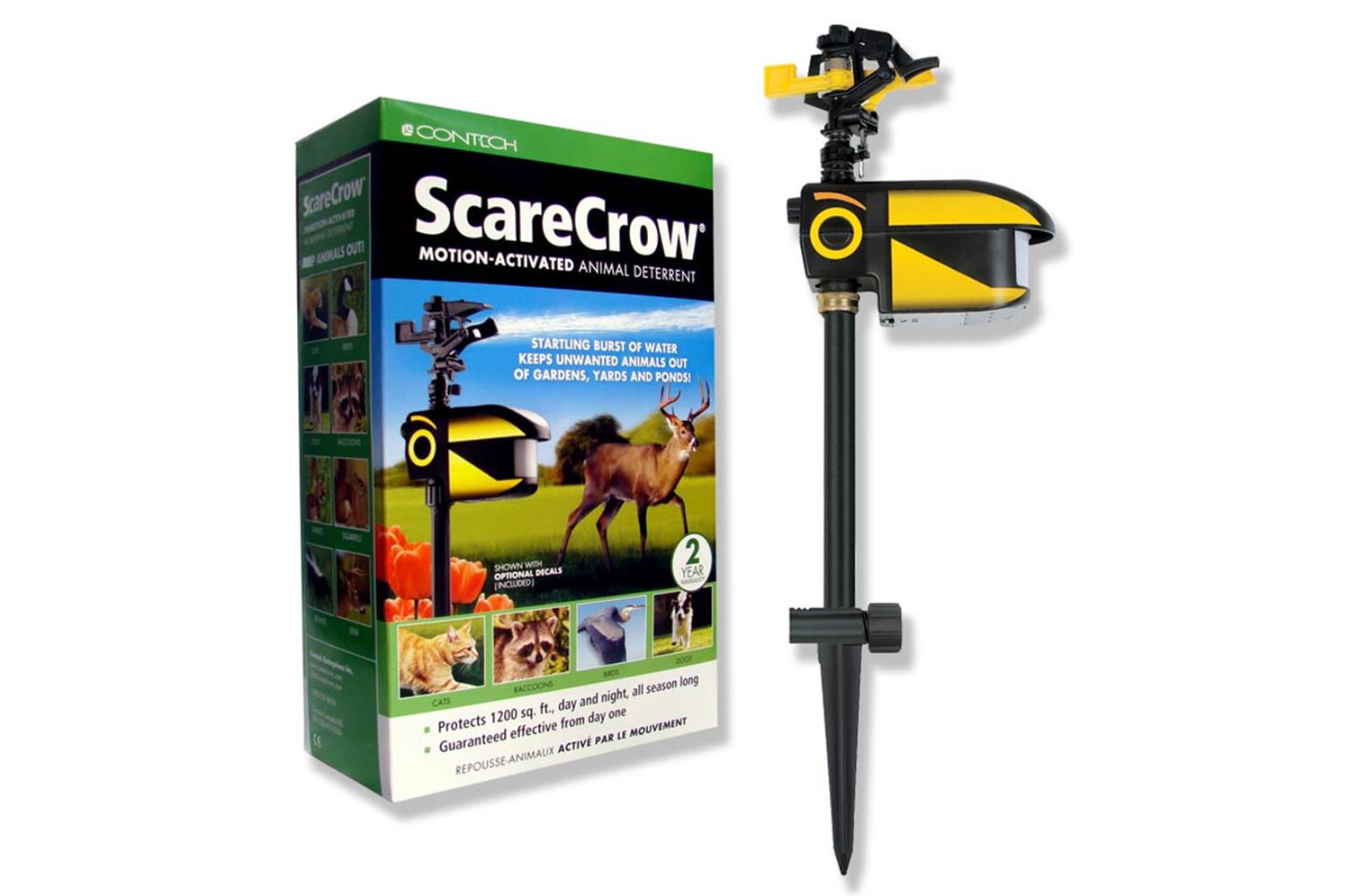 Scarecrow Motion-activated Deterrent