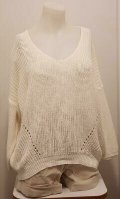 WHT Knit Sweater