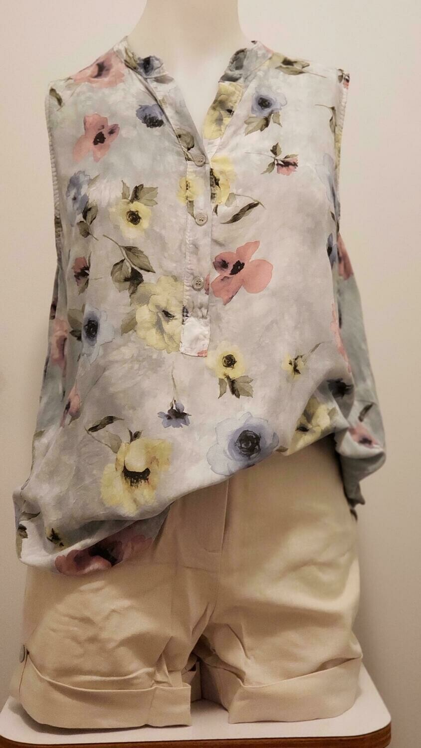 GRY Flower Tunic