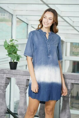 Denim Fade Dress