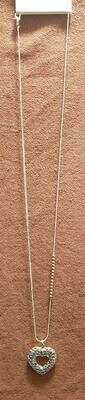 Long Heart Necklace