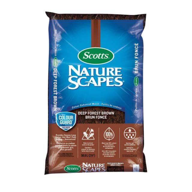 Scott's NaturescapesDeep Forest Brown Mulch 56L
