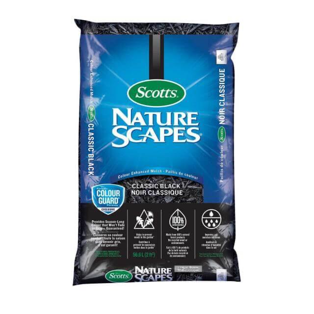 Scott's Naturescapes Classic Black Mulch 56L