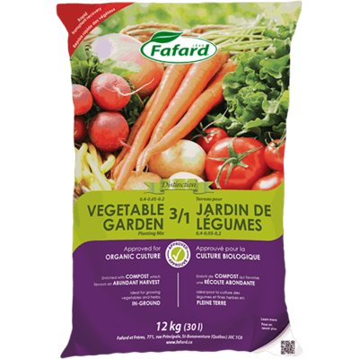 Fafafard 3/1 Vegetable Garden Planting Mix 30L