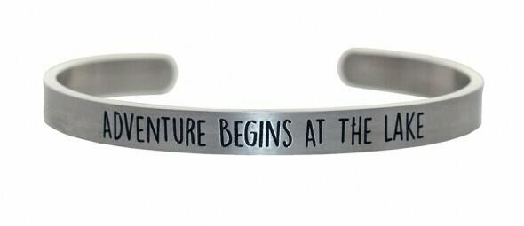 Adventure Begins Bracelet