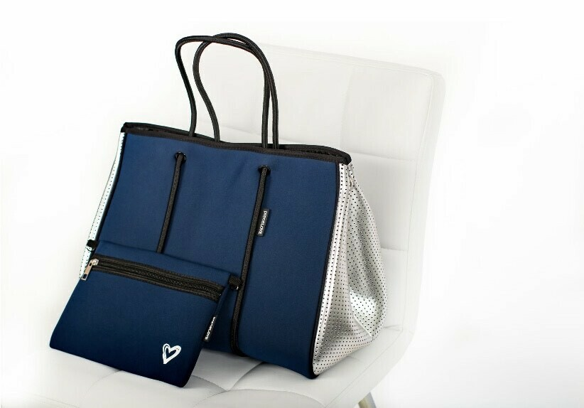 preneLOVE Large Tote - Blue Crush