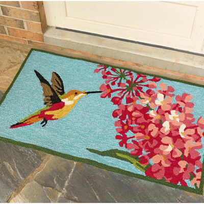 Hummingbird Accent Rug