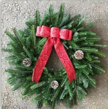 Noble Fir Wreath
