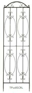 Large Scroll Trellis