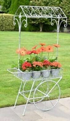 Rolling Flower Cart