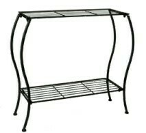 Flat Bar Rectangular Plant Stand
