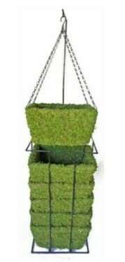 Moss Weave Hanging Basket
