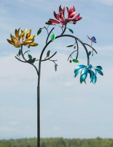 Flowering Wind Spinner