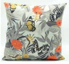 Tropical Butterfly Pillow