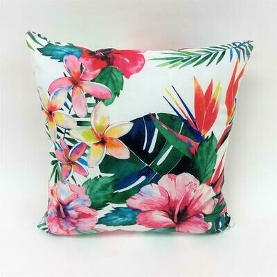 Tropical Flower Pillow