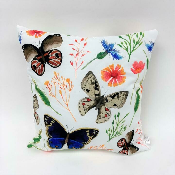Butterfly Meadow Pillow
