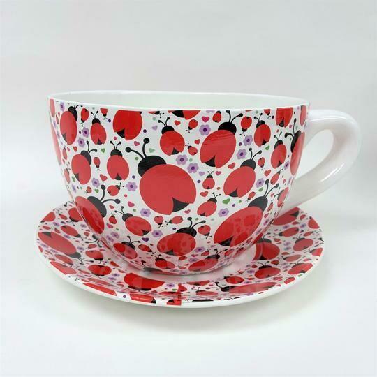 Tea Cup Pot Lady Bugs (Various Sizes)