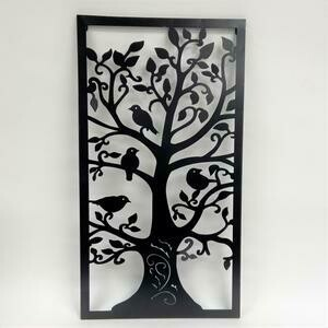 Wall Decor Tree Metal