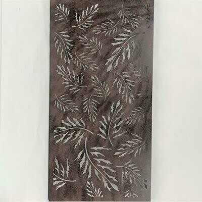 Wall Decor Metal Leaf 46.5x23.5