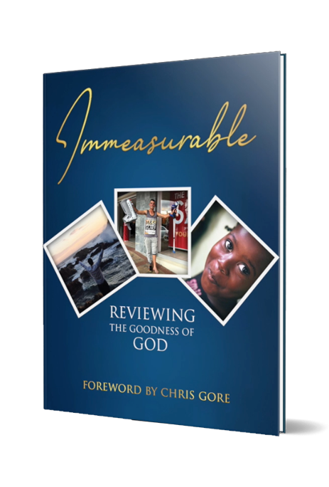 Immeasurable: Reviewing the Goodness of God (Hardcover & Color)