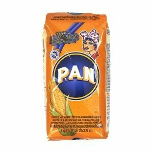 HARINA PAN YELLOW CORN MEAL 1KG