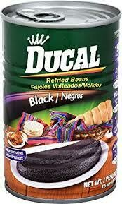 DUCAL REFRIED BLACK BEAN 426G
