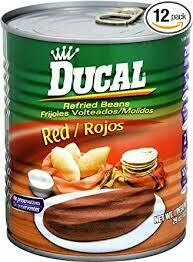 DUCAL REFRIED RED BEAN 823G