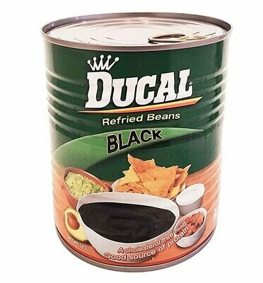 DUCAL REFRIED BLACK BEAN 823G