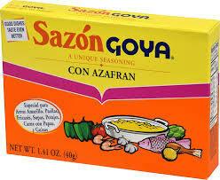 GOYA SAZON CON AZAFRAN 40G