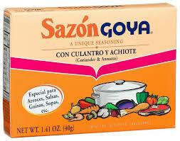 GOYA SAZON CILANTRO & ACHIOTE 40G