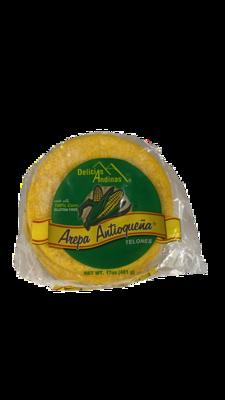 DELICIAS ANDINAS AREPA AMARILLA 481G