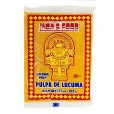 INCAS FOOD LUCUMA PULP 425G