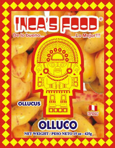 INCAS FOOD OLLUCO SLICED 425G