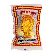INCAS FOOD PAPA AMARILLA SIN CASCARA 425G