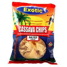 EXOTIC CASSAVA CHIPS SALT 150G